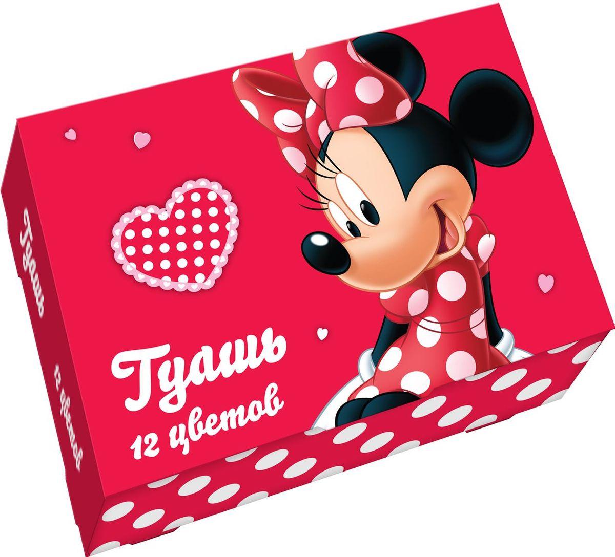 Disney Краска гуашь Минни 12 цветов