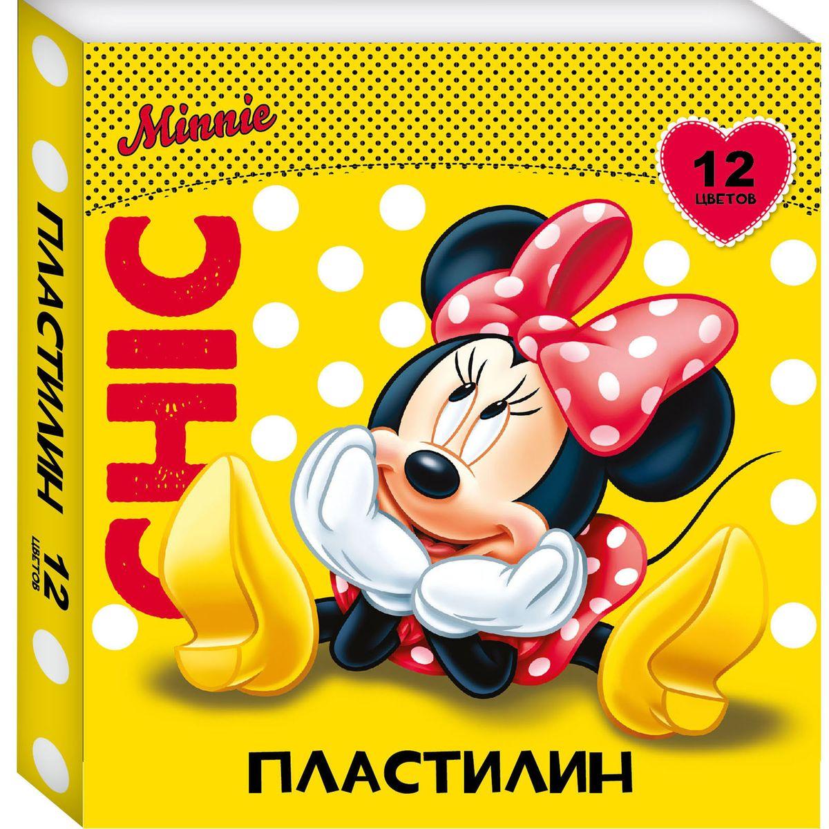 Disney Пластилин Минни 12 цветов