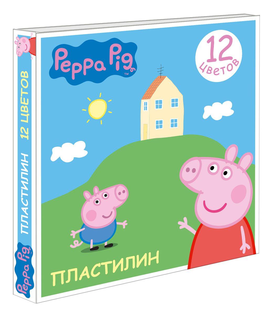 Peppa Pig Пластилин Свинка Пеппа 12 цветов29604Яркий и легко размягчающийся пластилин Свинка Пеппа поможет вашему малышу создать множество интересных поделок, а любимые герои мультфильма вдохновят кроху на новые творческие идеи. Лепить из этого пластилина - одно удовольствие: он обладает отличными пластичными свойствами, не липнет к рукам, не имеет запаха, безопасен при использовании по назначению. Смешивайте цвета, фантазируйте, экспериментируйте и развивайте свою малютку: лепка активно тренирует у ребенка мелкую моторику и умение работать пальчиками, развивает тактильное восприятие формы, веса и фактуры, совершенствует воображение и пространственное мышление. А главное - лепить фигурки в компании любимых героев невероятно весело! В наборе 12 цветов пластилина, которые легко смешиваются друг с другом. Состав: парафин, петролатум, мел, каолин, красители. Товар сертифицирован. Срок годности не ограничен. Упаковка: коробка размером 16,5х15,4х1,8 см.