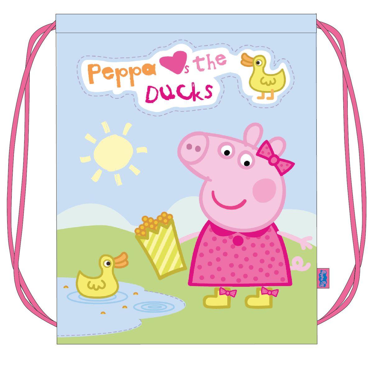 Peppa Pig Сумка для сменной обуви Утка