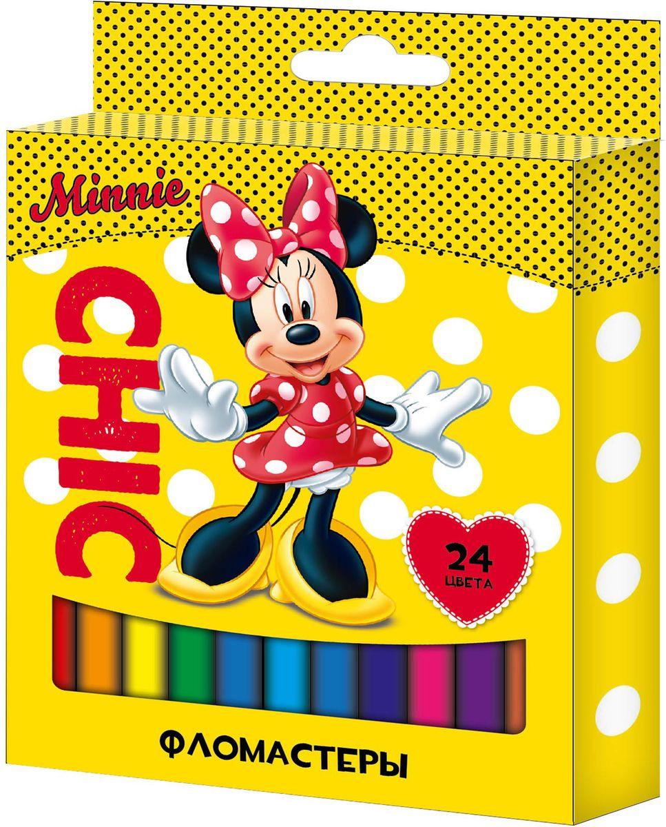 Disney Набор фломастеров Минни 24 цвета