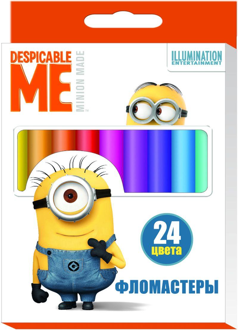Universal Миньоны Набор фломастеров Гадкий Я 24 цвета 29003