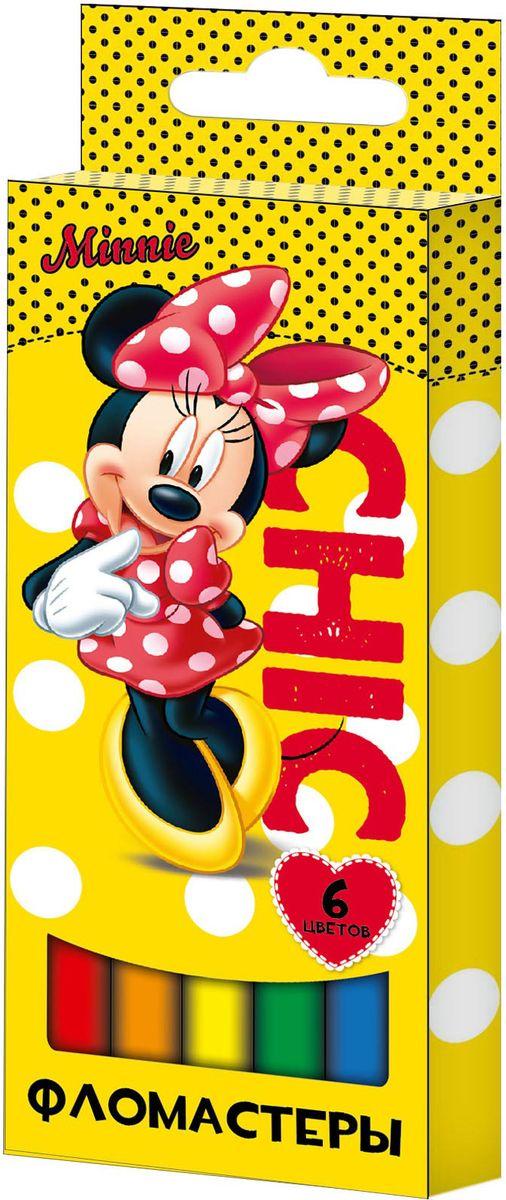 Disney Набор фломастеров Минни 6 цветов ( 29006 )