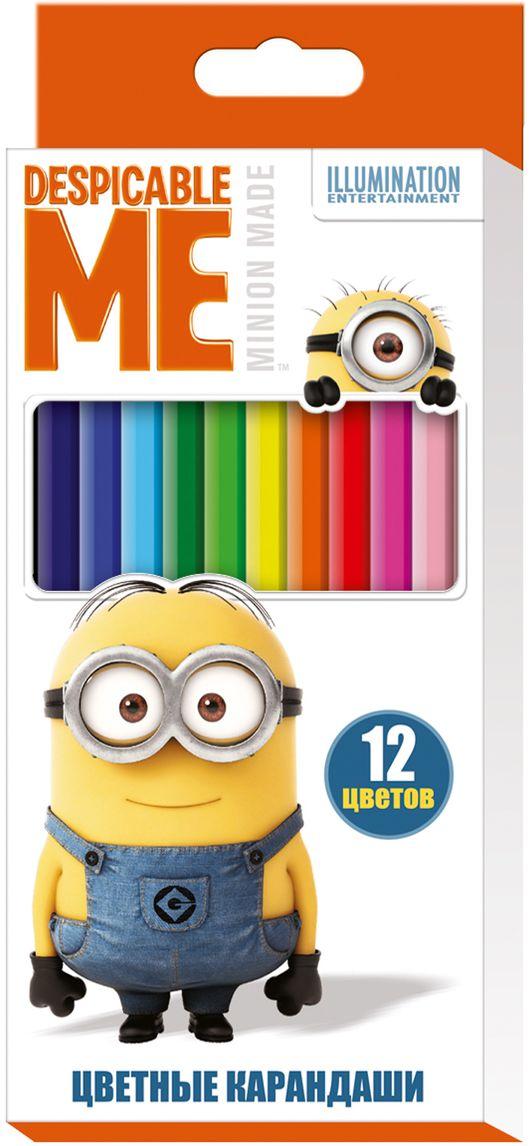 Universal Миньоны Набор цветных карандашей Гадкий Я 12 цветов