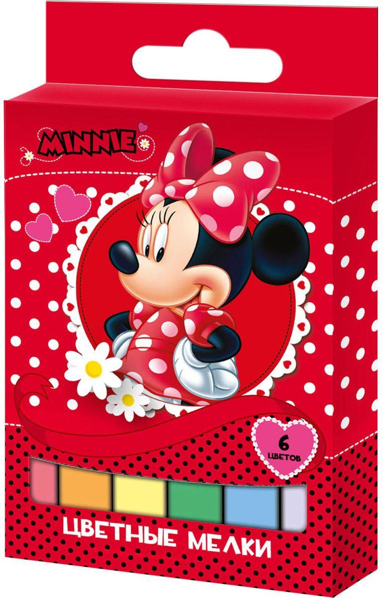 Disney Мелки Минни с квадратным сечением 6 цветов ( 29088 )
