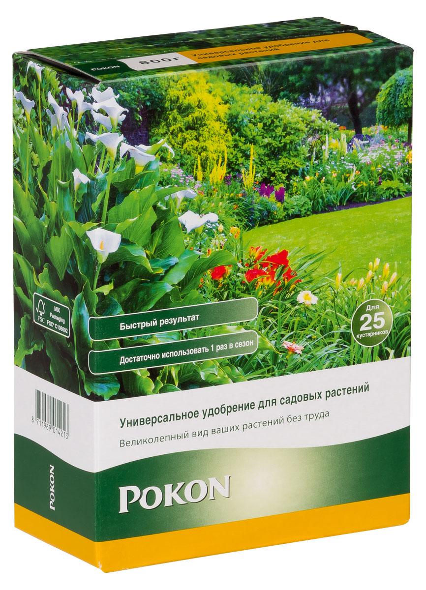 Универсальное удобрение Pokon для садовых растений длительного действия, 800 г8711969014213Универсальное удобрение Pokon для садовых растений длительного действия: NPK 17 + 9 + 17 с добавкой 2 MgO + 0,1 Fe и гуминовых экстрактов. Это удобрение обеспечивает садовые растения всем, что нужно для сохранения красоты и здоровья. Необходимые питательные вещества стимулируют рост и цветение. Натуральная добавка из гуминовых экстрактов оптимизирует естественный баланс грунта и улучшает доступ питательных веществ к растениям. Благодаря этому садовые растения становятся более здоровыми и сильными. Инструкция по применению: - Отмерьте нужное количество удобрения мерной ложечкой (30–40 г на 1 взрослое растение в открытом грунте; 10–20 г на 1 горшечное или молодое растение). - Равномерно насыпьте гранулы вокруг растения. - Смешайте гранулы с верхним слоем грунта. - Полейте грунт, и удобрение немедленно начнет действовать. - Не используйте при температуре выше +25 градусов. - Вносите удобрение в период март — август. Состав: ...