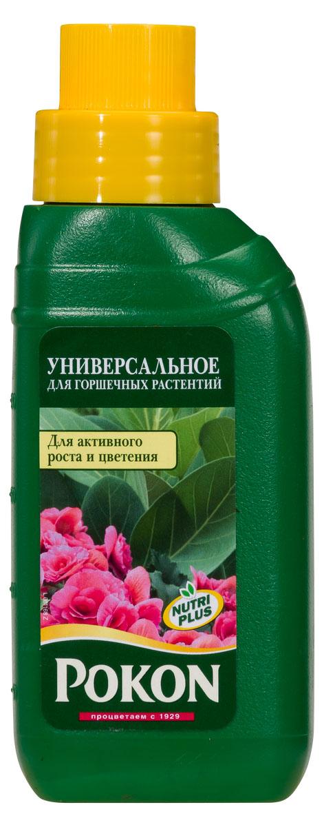 Удобрение Pokon универсальный для всех видов горшечных растений, 250 мл8719400007619Удобрение Pokon универсальный для всех видов горшечных растений: NPK 7 + 3 + 7 с добавкой микроэлементов и гуминовых экстрактов. Условия у вас дома далеки от естественных условий обитания растений, поэтому так важен хороший уход за ними. Это удобрение дает комнатным растениям все, чтобы оставаться сильными и здоровыми. Необходимые питательные вещества способствуют росту и цветению. Натуральная добавка из гуминовых экстрактов оптимизирует естественный баланс питательного грунта и улучшает доступ питательных веществ к растениям. Благодаря этому улучшается здоровье и укрепляется сила растений. Инструкция по применению: - Добавьте удобрение в воду для полива (10 мл на 1 л воды). - Поливайте растения раствором удобрения 1 раз в неделю. - Зимой уменьшайте дозировку вдвое (5 мл на 1 л воды). - В первые 4–6 недель после пересадки дополнительная подкормка не проводится. - Дозировка для гидрокультуры: 2,5 мл на 2 л воды. Состав: Жидкое...