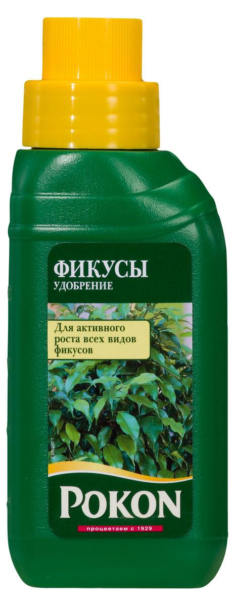 Удобрение Pokon для фикусов, 250 мл8719400007848Pokon удобрение для фикусов. Фикусы — это сильные растения. В дикой природе они могут жить до 500 лет. Но при их выращивании в помещениях условия сильно отличаются от природных. Поэтому используйте специальное удобрение для фикусов, чтобы сохранить их сильными и здоровыми.