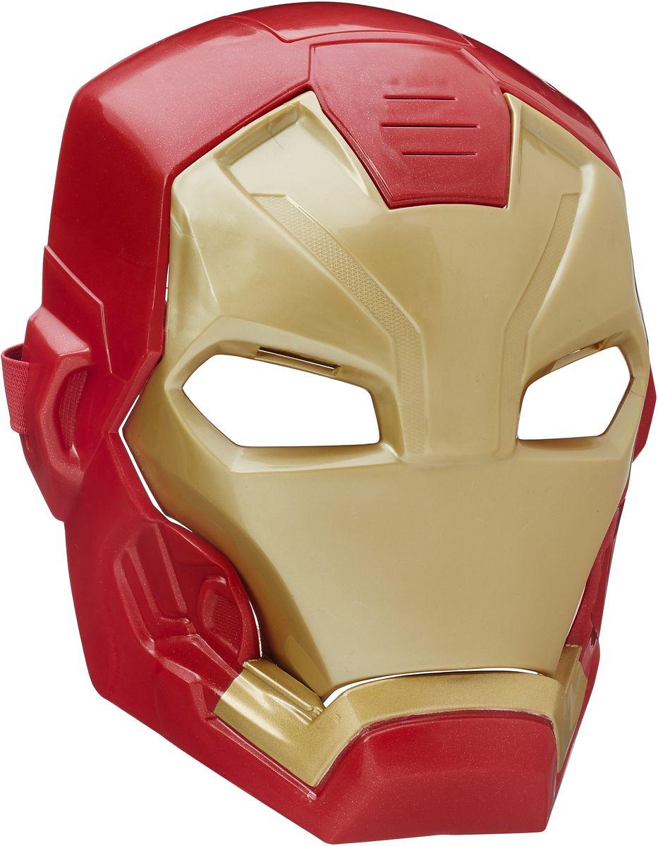Avengers Интерактивная игрушка Маска Железного человекаB5784EU4У вашего ребенка намечается детский утренник, бал-маскарад или карнавал? Интерактивная игрушка Avengers Маска Железного человека внесет нотку задора и веселья в праздник и станет завершающим штрихом в создании праздничного образа. Маска позволит почувствовать себя настоящим супергероем, который борется против заклятых врагов, объединенных в Зловещую шестерку! Игрушка имеет звуковой модуль, который активируется при откидывании передней панели. Также имеются световые эффекты. Маска выполнена в классическом красно-золотистом цветовом сочетании. Благодаря регулируемым ремешкам маска подойдет для фанатов всех возрастов! Перевоплотитесь в своего любимого супергероя с этой маской! Рекомендуется докупить 2 батарейки напряжением 1,5V типа ААА (товар комплектуется демонстрационными).