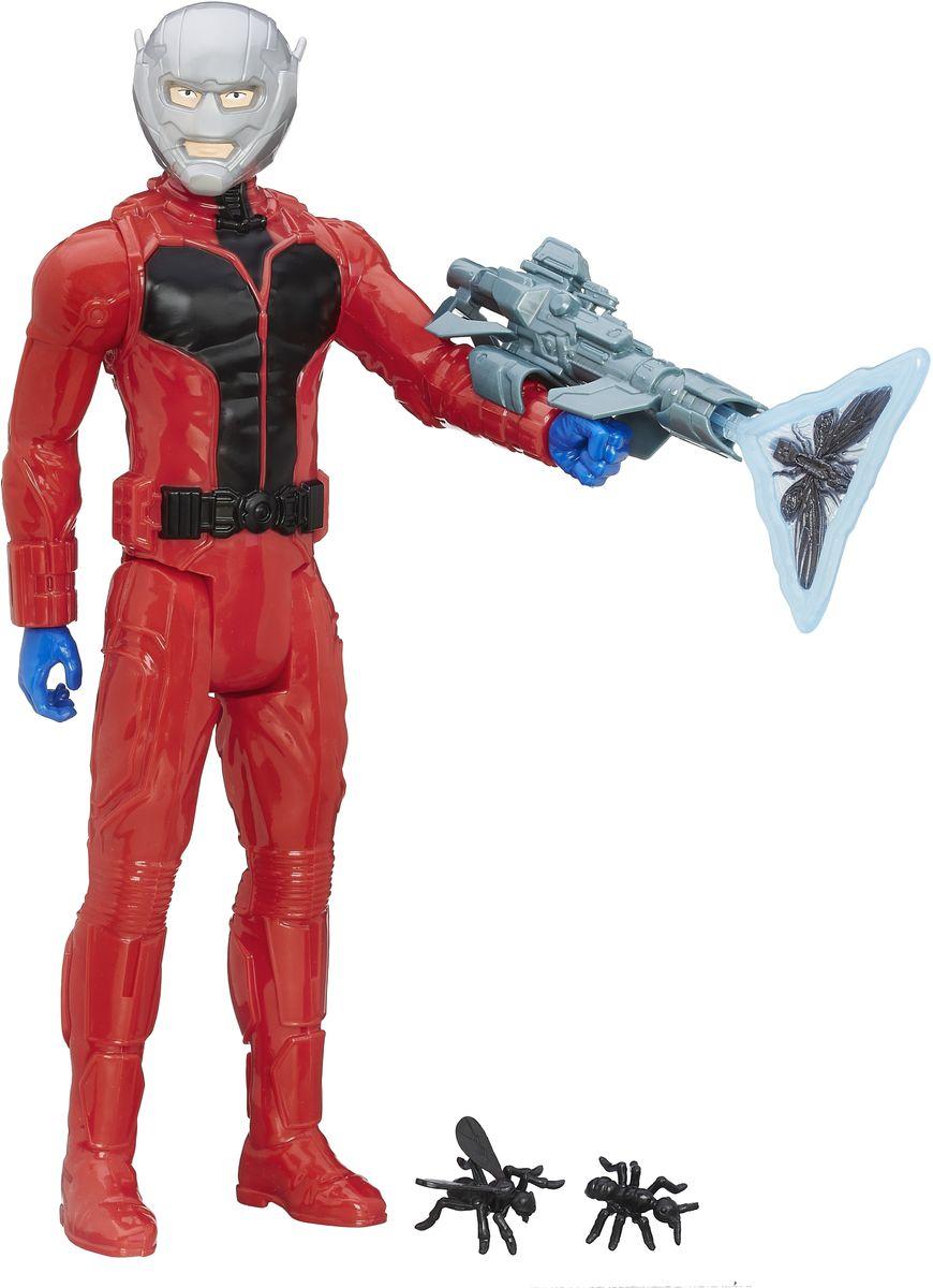 Avengers Фигурка Ant-ManB5773EU4_B6148Фигурка Avengers Ant-Man непременно привлечет внимание вашего ребенка и не позволит ему скучать. Фигурка выполнена в виде персонажа из команды Мстителей - Человека-муравья. В комплект также входят оружие и аксессуары. Фигурка выполнена из прочного безопасного пластика. Она в точности повторяет внешний вид героя. Голова, руки и ноги фигурки подвижны, что позволяет придавать ей различные позы и открывает ребенку неограниченный простор для игр. Ребенок с удовольствием будет играть с фигуркой, придумывая разные истории. Порадуйте его таким замечательным подарком!