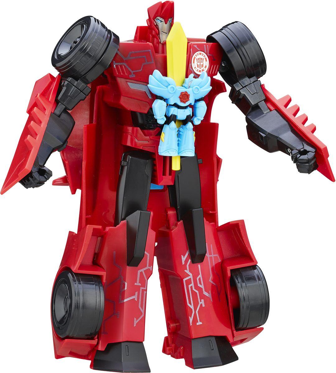 Transformers Трансформер Заряженые ГероиB7067EU4Как в мультфильме: Любимые герои Трансофрмеров, которые активируются при помощи Миниконов!