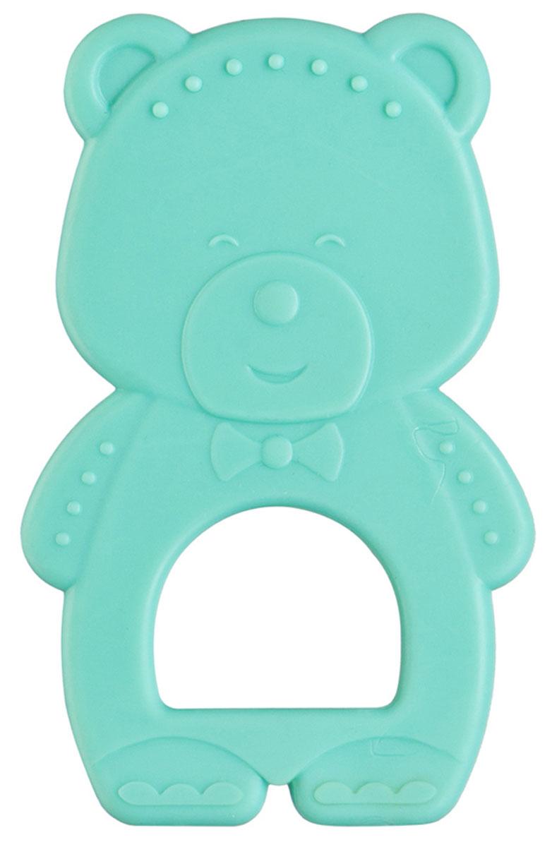 Happy Baby Прорезыватель Мишка цвет бирюзовый