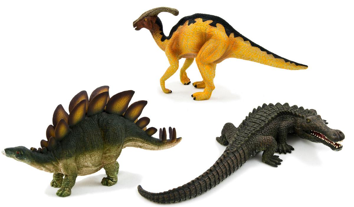 Mojo Набор фигурок Динозавры 3 шт 387307387307Набор фигурок Mojo Динозавры познакомят вашего ребенка с окружающим миром. В набор входят три фигурки: стегозавр, паразауролоф, саркозух, которые имеют высокую степень сходства с настоящими животными, что позволяет использовать фигурки не только как игровые, но и как коллекционные. Кроме того, фигурки можно использовать в качестве наглядного пособия при изучении животного мира. Фигурки изготовлены из качественных и безопасных материалов, не токсичны и не вызывают аллергию.