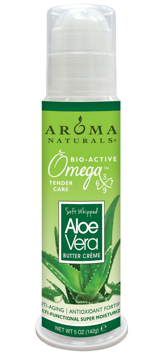 Aroma Naturals Супер увлажняющий крем с маслом алоэ, 142 г