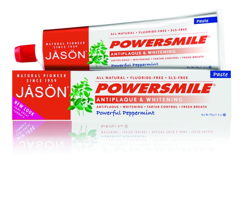 Jason Зубная паста Сила улыбки, 170 гJ01500Специализированная, многофункциональная зубная паста без фтора, показана для снятия плотного налета и безопасного отбеливания зубной эмали. Содержит только природные ПАВ и эксклюзивные природные микрочастицы с повышенным индексом абразивности, обладающие отменными полирующими свойствами. Снимает плотный зубной налёт от кофе, чая и табака, отбеливают эмаль и придают ей красивый блеск. Возвращая зубам их естественную белизну, оказывает помощь в борьбе с зубной бляшкой.
