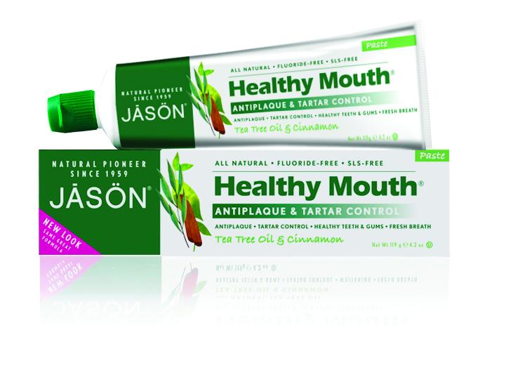 Jason Зубная паста Чайное дерево, 125 гJ01515Лечебно-профилактическая зубная паста без фтора содержащая эссенциальные масла чайного дерева, гвоздики, корицы и мелии оказывает антибактериальное, антисептическое действие против значительного количества бактерий. Активно препятствует микробному обсеменению, предупреждает кариес, снимает отечность, напряжение в десне, устраняет кровоточивость. Эффективно устраняет неприятный запах изо рта и надолго создает ощущение чистоты и свежести. Подходит при воспалительных заболеваниях пародонта и слизистой оболочки рта, при кровоточивости десен, при наличии кариесогенных факторов поражения эмали.