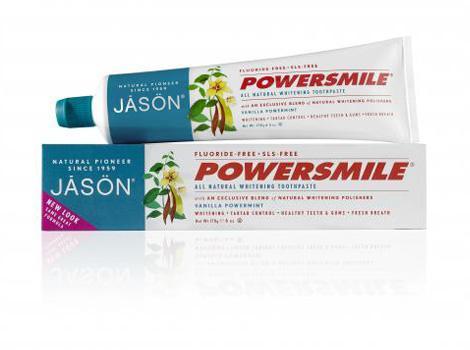 Jason Отбеливающая зубная паста с ванилью и мятой, 170 гJ61847Натуральная зубная паста без агрессивных абразивов или раздражающих химических веществ, с экстрактом ванили и масло мяты, великолепно освежает и очищает полость рта. Подходит для чувствительных зубов, великолепно укрепляет эмаль и оставляет надолго приятную свежесть