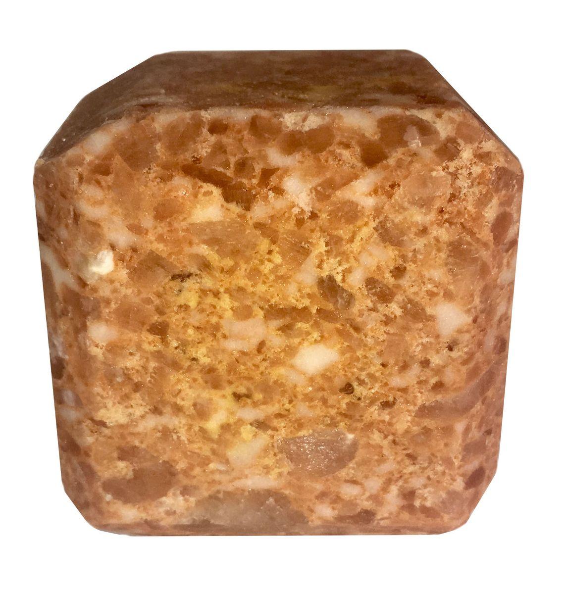 Соль для бани Proffi Sauna, с маслом апельсинаPS0552Прессованный кубик из соли для сауны с ароматом апельсина. Заходя в бане/ сауне в парилку, Вы ставите кубик из соли на камни и поливаете камень водой. В результате образуется облако соляного пара, а по всей парилке разносится приятный аромат. 1 кубик рассчитан на 1 применение. Состав: чистая природная структурированная соль, эфирное масло.