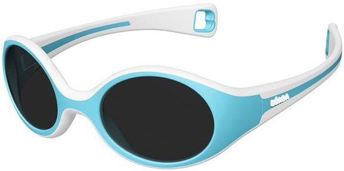 Beaba Солнцезащитные очки детские Sunglasses Baby 360 S категория 3 цвет голубой930258Детские очки Baby S Beaba - идеальная защита от агрессивных УФ лучей. Детские очки Baby S Beaba 3 категории защитят кроху от УФ лучей при любых обстоятельствах: на прогулке, на море, в горах. Детские очки Baby S Beaba. Качество и безопасность с оптимальной защитой от ультрафиолетовых лучей (UVA, UVB) - 3 категория. Эргономичная оправа 360°. Специально разработанная из двух дополняющих друг друга материалов гибкая оправа повторяет морфологию головы малыша, не давит за ушами. Благодаря более нежному внутреннему слою, очки не давят на нос. Основа – полипропилен и СЕБС. Небьющиеся стекла. С 9 месяцев для ребенка, сидящего в коляске. Сделано во Франции Офтальмологи со всего мира все чаще говорят о необходимости защиты детских глаз от агрессивного солнца. Данная тенденция ничуть не является данью моде, а становится острой необходимостью, которую врачи осознали благодаря современным исследованиям.