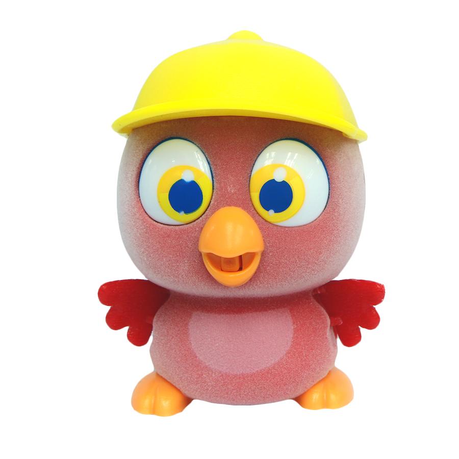 Пи-ко-ко Интерактивная игрушка Какаду в кепке22070Интерактивная игрушка Пи-ко-ко Какаду в кепке приведет в восторг любого ребенка. После включения птенец начинает идти, весело щебетать и махать крыльями. Стоит хлопнуть в ладони, он громко запищит и быстро начнет бежать. Если взять его в руки и покормить из бутылочки, входящей в набор, птенец успокоится и радостно зачирикает. После этого он начнет медленно ходить и щебетать, пока опять не услышит громкий звук. Необходимо купить батарейку типа AAA (не входит в комплект).