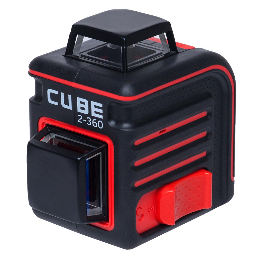 Построитель лазерных плоскостей ADA Cube 2-360 Basic EditionА00447Комплектация BASIC EDITION Лазерный уровень Батареи Инструкция