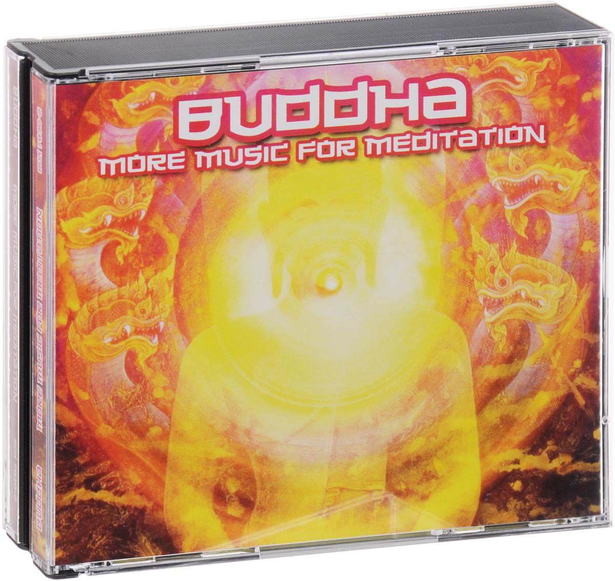 Buddha. More Music For Meditation (3 CD) 2008 3 Audio CD