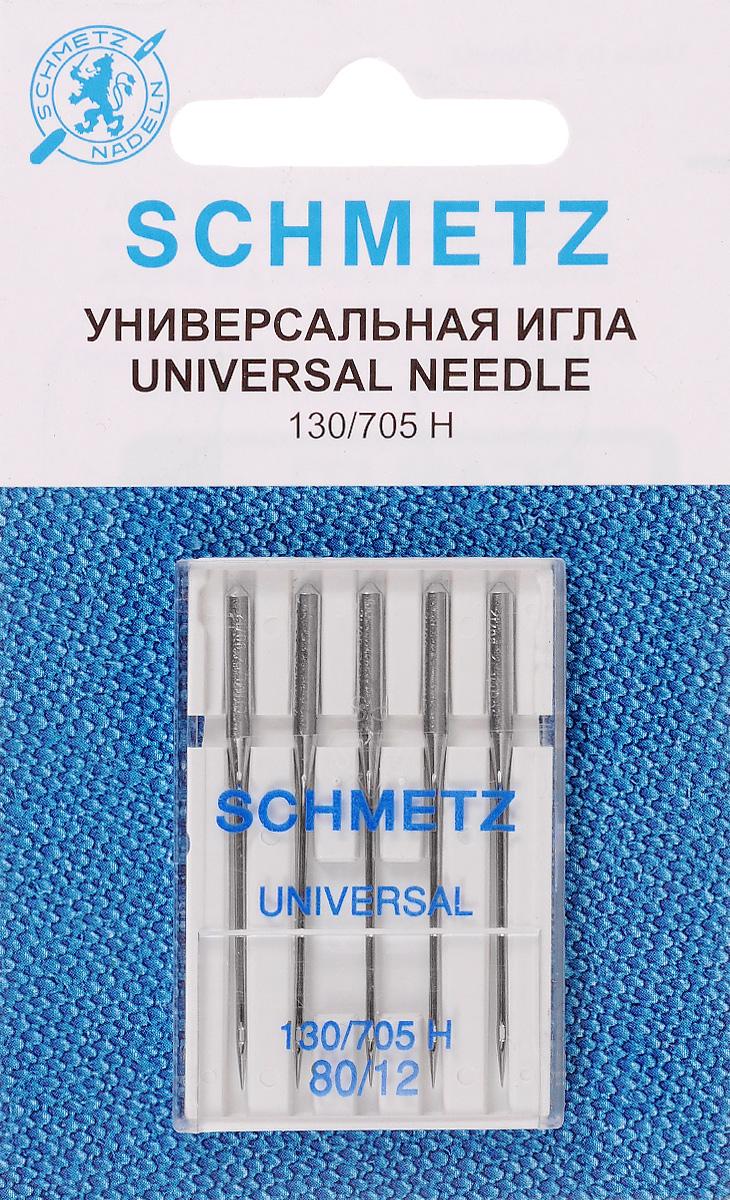 Набор игл Schmetz, №80, 5 шт22:15.2.VCSНабор Schmetz состоит из пяти игл для бытовых швейных машин. Изделия выполнены из высококачественной стали. Предназначены для вязаных изделий и трикотажа. Комплектация: 5 шт. Размер игл: №80. Система игл: 130/705 H.