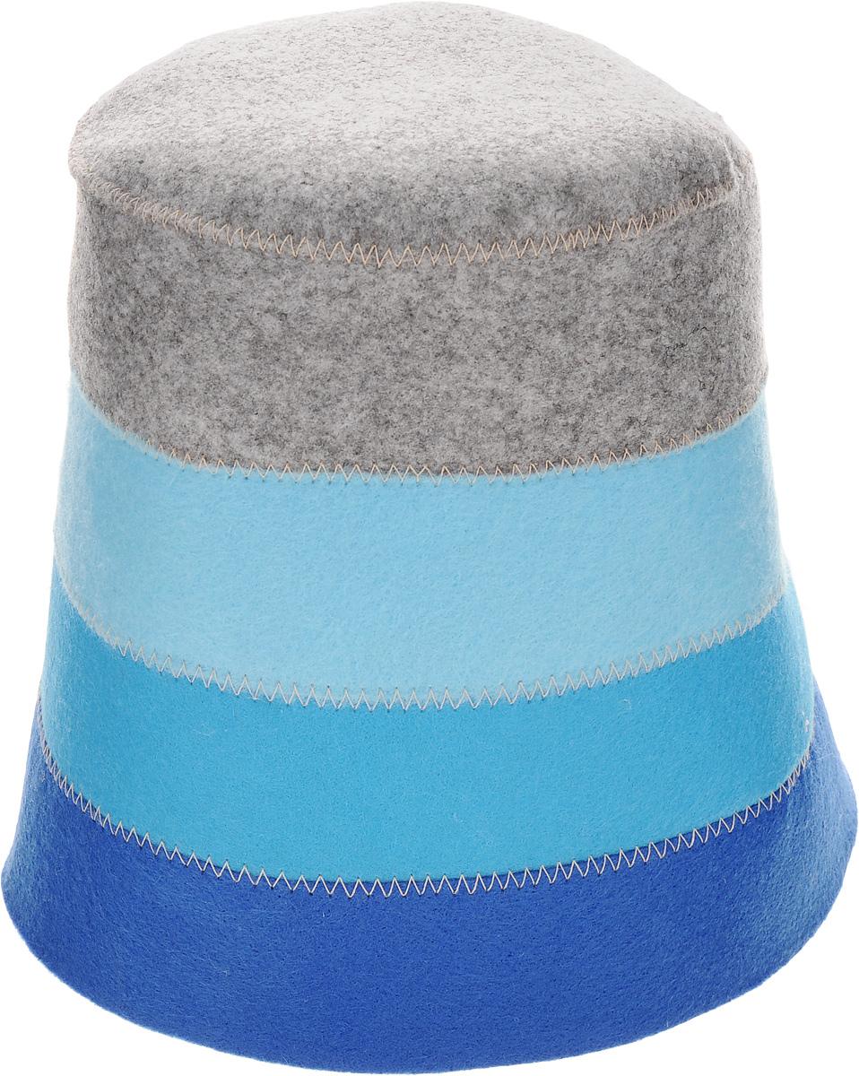 Шапка для бани и сауны Доктор баня В полоску, цвет: синий, голубой, серый905254_синий, голубой, серыйШапка для бани и сауны Доктор баня В полоску, выполненная из 100% полиэстера, является оригинальным и незаменимым аксессуаром для любителей попариться в русской бане и для тех, кто предпочитает сухой жар финской бани. Необычный дизайн изделия поможет сделать ваш отдых более приятным и разнообразным. При правильном уходе шапка прослужит долгое время. Обхват головы: 60 см.