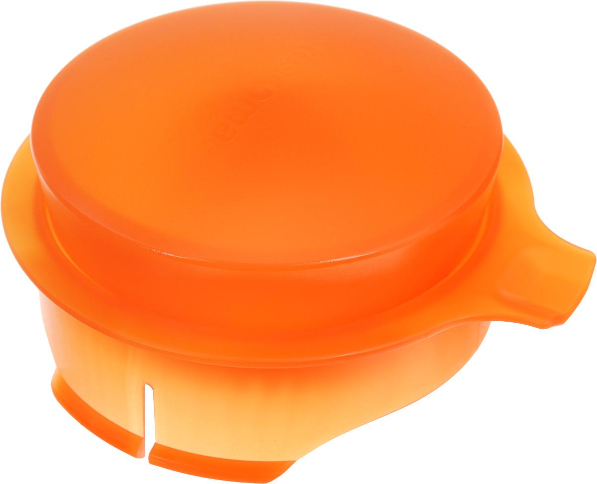Соковыжималка для цитрусовых Tescoma, для кувшина Teo 2,5 л, цвет: оранжевый646611_оранжевыйСоковыжималка Tescoma, выполненная из высококачественного пластика, станет полезным аксессуаром на любой кухне. Она подходит для кувшина Teo объемом 2,5 л. Соковыжималка состоит из насадки и крышки и идеально подойдет для мелких и крупных цитрусовых фруктов. Достаточно разрезать фрукты пополам, зафиксировать на насадке и покрутить. Сок поступает в кувшин. Простая и удобная в использовании соковыжималка Tescoma займет достойное место среди кухонного инвентаря. Можно мыть в посудомоечной машине. Диаметр соковыжималки по верхнему краю: 11 см. Высота соковыжималки с учетом крышки: 4,5 см.