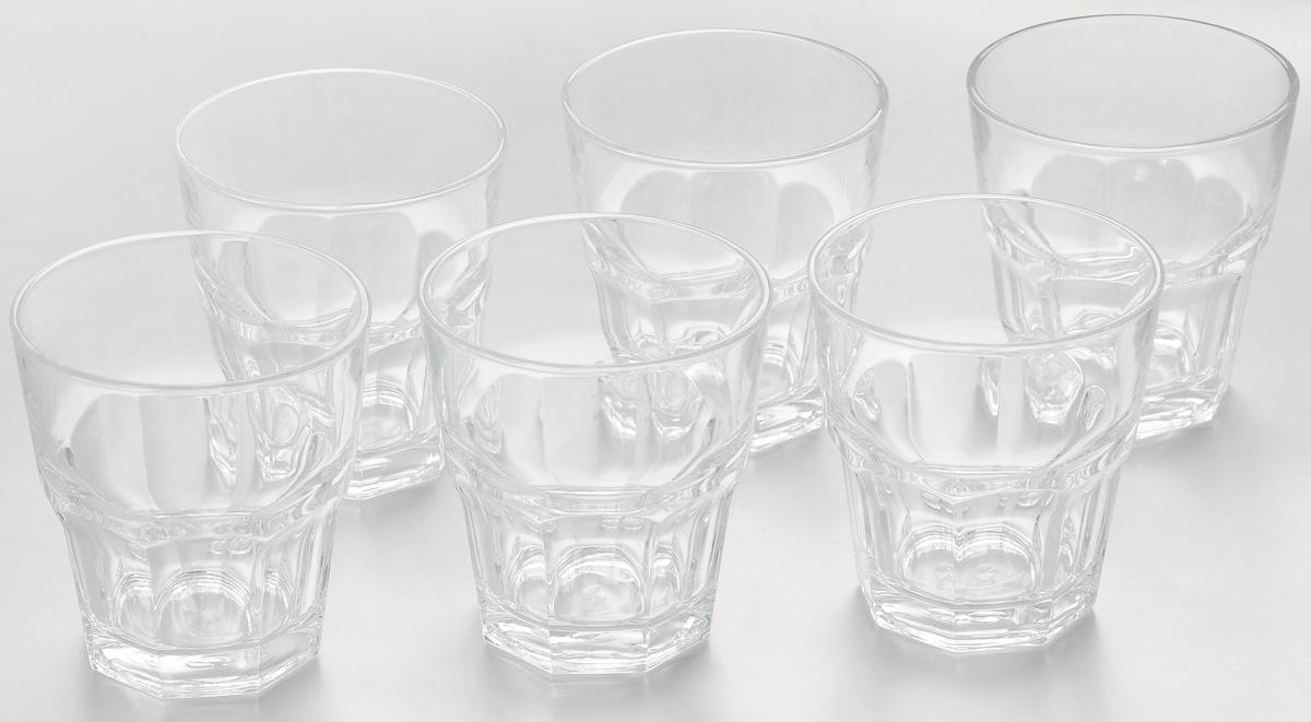 Набор стаканов Pasabahce Casablanca, 265 мл, 6 шт52705BTНабор Pasabahce Casablanca состоит из шести стаканов, выполненных из закаленного натрий-кальций-силикатного стекла. Изделия имеют многогранную рельефную поверхность и сочетают в себе элегантный дизайн и функциональность. Такие стаканы подойдут для подачи воды, сока и других напитков со льдом. Набор стаканов Pasabahce Casablanca идеально подойдет для сервировки стола и станет отличным подарком к любому празднику. Можно мыть в посудомоечной машине и использовать в холодильнике, морозильной камере и микроволновой печи. Диаметр стакана (по верхнему краю): 8,5 см. Высота стакана: 9,2 см.