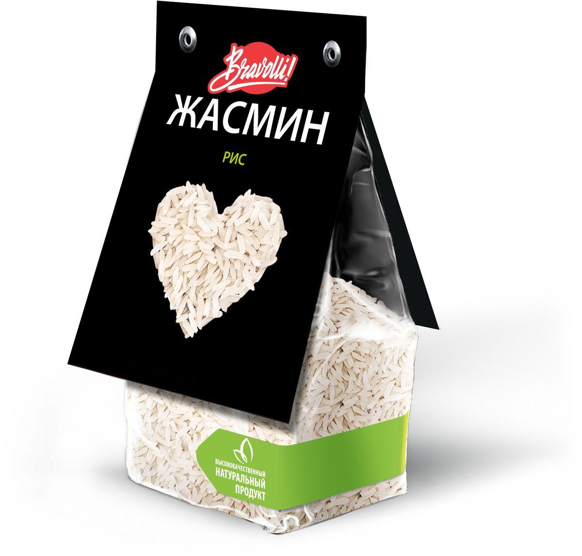 Bravolli Жасмин рис, 350 гБР 61/6Рис Жасмин - белый длиннозерный рис, который обладает природным (натуральным) ароматом, напоминающим благоухание белого цветка жасмина.