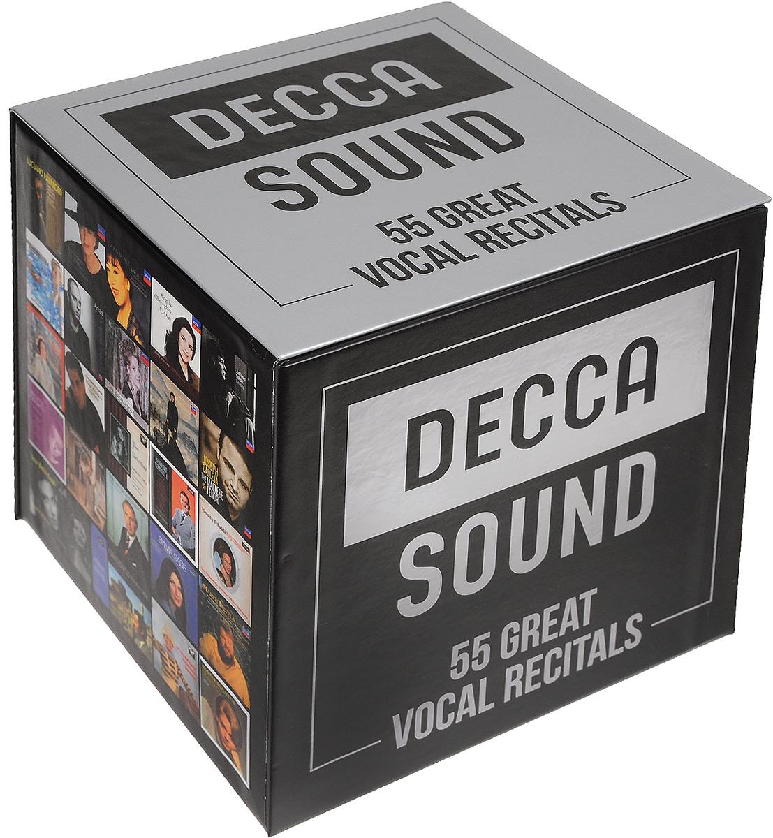 Decca Sound. The Great Vocal Recitals (55 CD)