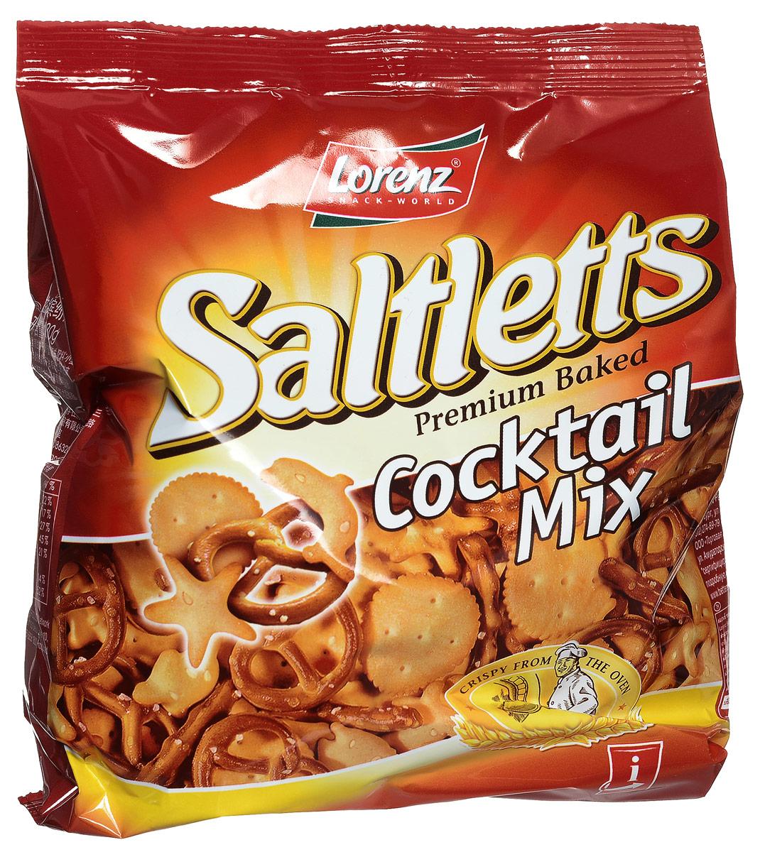 Lorenz Saltletts коктейль печенье и крендельки, 180 г