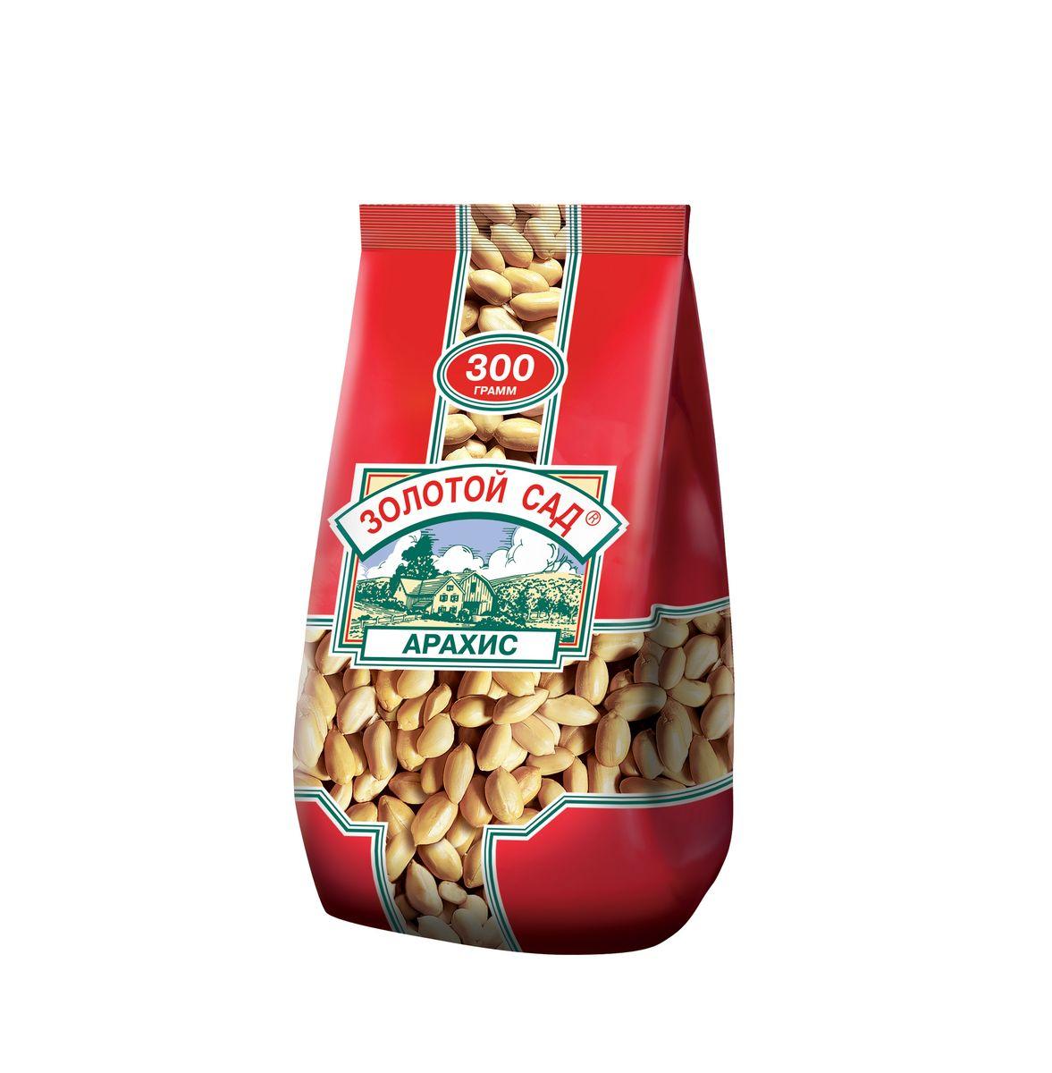 Золотой сад арахис жареный соленый, 300 г