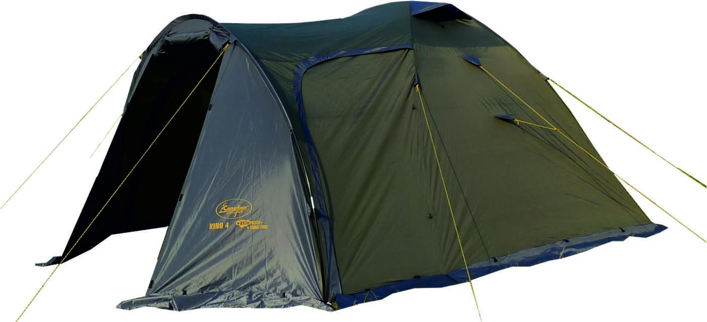 Палатка Canadian Camper RINO 4, цвет: зеленый, серый30400023Общие характеристики Назначение: Туризм Внутренняя палатка: Есть Количество мест: 4 Тип установки каркаса: Внутренний Геометрия: Полусфера Конструкция Количество комнат: 1 Количество входов во внутреннею палатку: 2 Возможность крепления фонарика: Есть Вентиляционные окна: Есть Навес: Нет Защита Водонепроницаемость тента: 5000мм. водяного столба Водонепроницаемость дна: 7000мм. водяного столба Герметизация швов: Есть Ветрозащитная/снегозащитная юбка: Есть Москитные сетки: Есть Защита от ультрафиолета: Есть Материалы Материал дуг: Фиберглас Материал внутренней палатки: Дышащий полиэстер Материал дна: Синтетика Материал тента: Синтетика Габариты и вес Вес: 6.2кг Размеры внутренней палатки ширина: 240см Размеры внутренней палатки длина: 220см Размеры внутренней палатки высота: 165см Размеры внешней палатки ширина: 250см Размеры внешней палатки длина: 365см Размеры внешней палатки высота: 170см