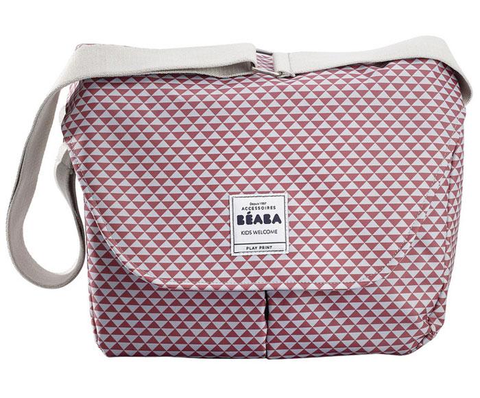 Beaba Сумка для мамы Changing Bag Vienna Ii цвет розовый белый940208