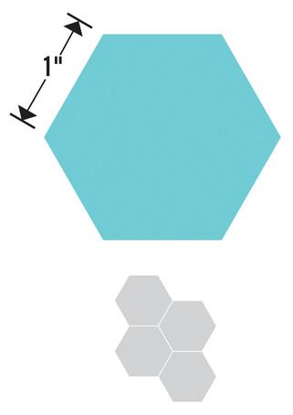Sizzix Нож для вырубки Bigz Die Шестиугольники. 659835659835Нож может использоваться для вырубки ткани до 8 слоев, ламинированного хлопка, фетра до 6-8 мм толщиной, картона, кожи. Можно использовать со всеми типами вырубных машинок SIZZIX.