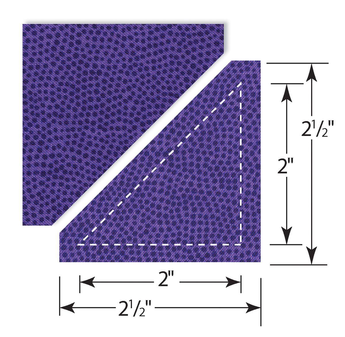 Sizzix Нож для вырубки Bigz Die Треугольники из квадратов, цвет: фиолетовый659831Нож может использоваться для вырубки ткани до 8 слоев, ламинированного хлопка, фетра до 6-8 мм толщиной, картона, кожи. Можно использовать со всеми типами вырубных машинок SIZZIX.