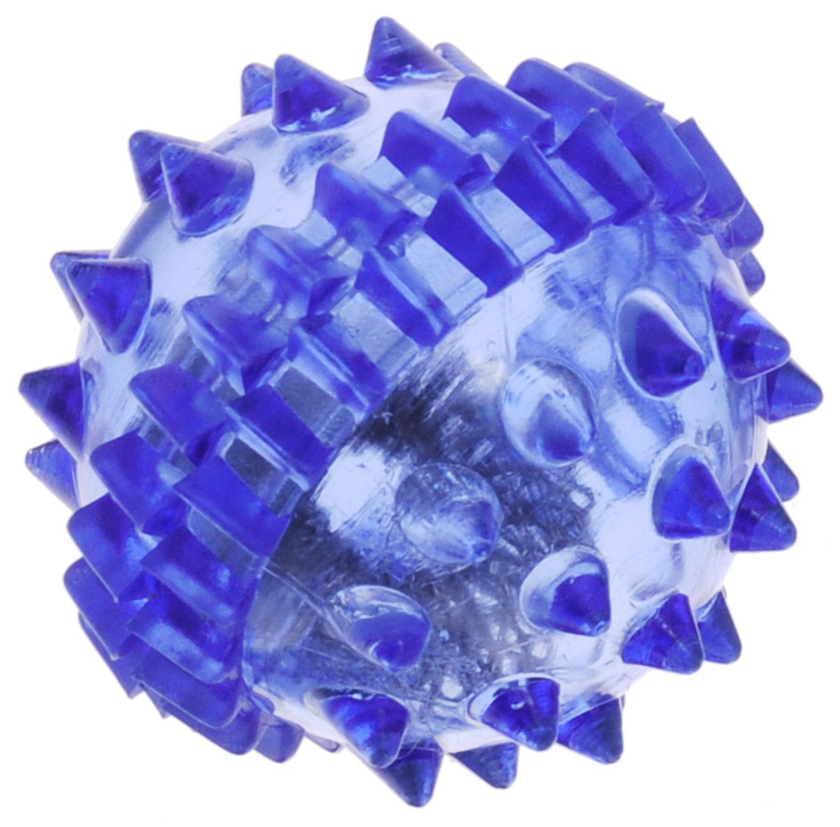 """Массажер Дельтатерм """"Ежик"""", с пружинкой, цвет: синий 00-00000217_синий"""