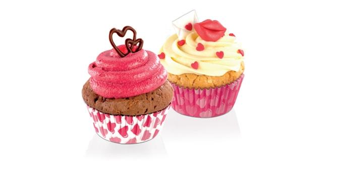 Корзинка кондитерская Tescoma Delicia. Сердца, диаметр: 6 см, 60 шт630611Замечательные бумажные корзиночки для приготовления кексов. Привлекательный романтический мотив порадует всех влюбленных не только в день святого Валентина.