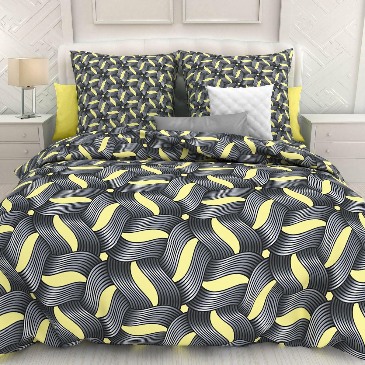 Комплект белья Унисон Panamera, 2-х спальное, наволочки 70 x 70. 297232297232