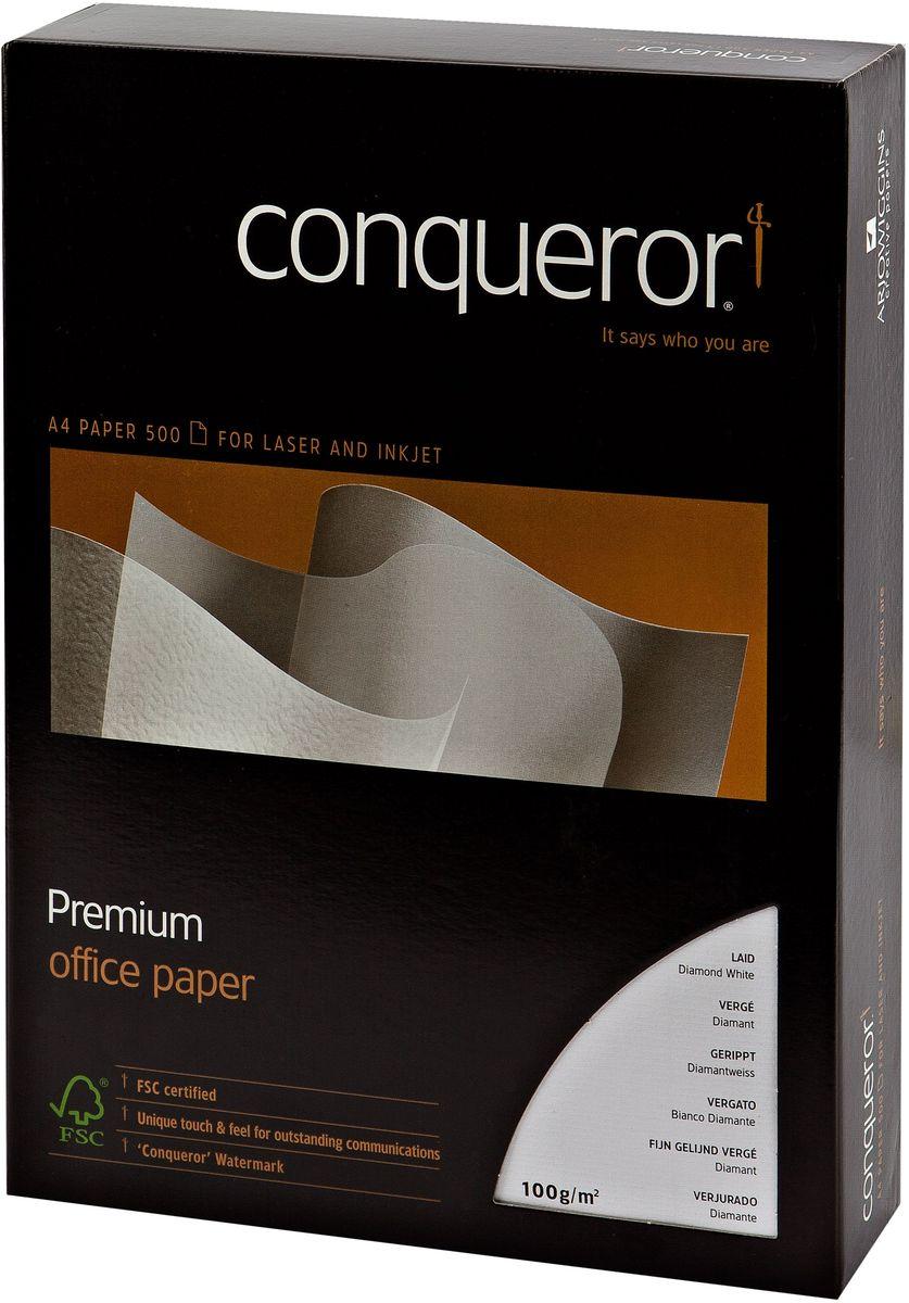 Conqueror Бумага для принтера с тиснением и водяным знаком 500 листов цвет белый