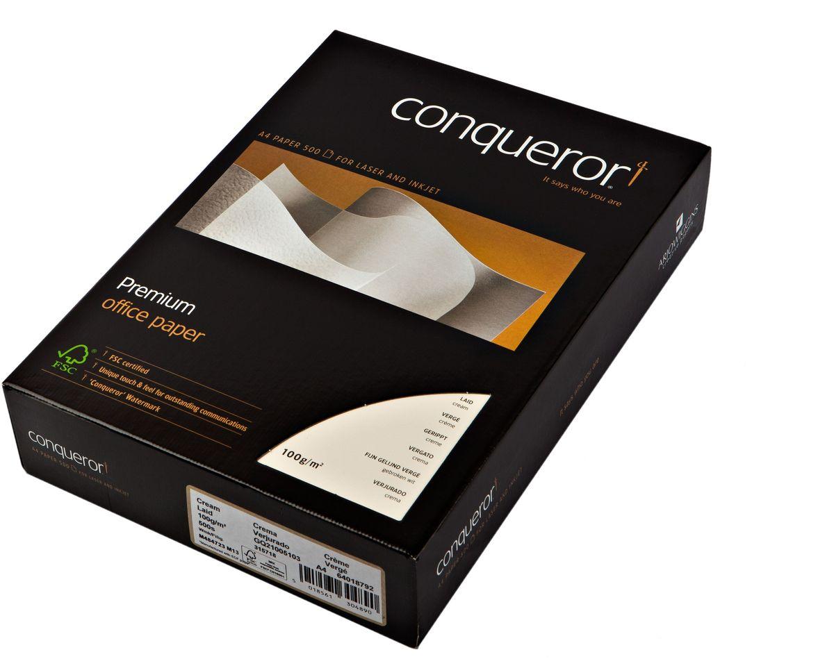 Conqueror Бумага для принтера с тиснением и водяным знаком 500 листов цвет кремовый