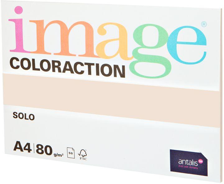 Image Бумага для принтера цветная Coloraction формат А4 50 листов цвет кремовый