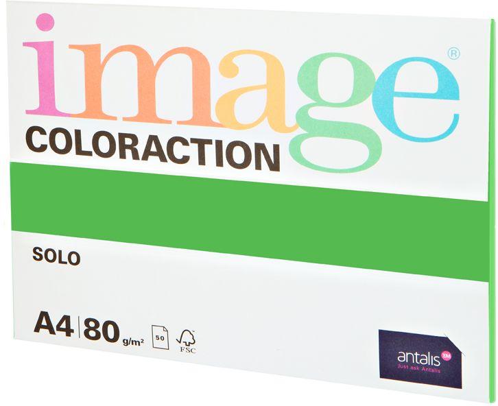 Image Бумага для принтера цветная Coloraction формат А4 50 листов цвет ярко-зеленый ( 717066 )