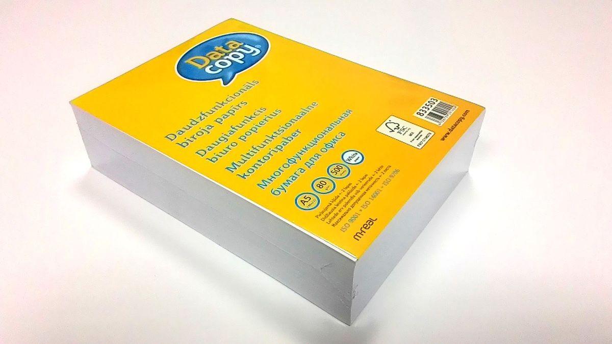 Data Copy Бумага для принтера формат А5 500 листов A+ класс