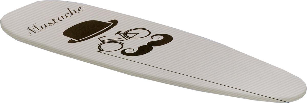 Чехол для гладильной доски Rayen, цвет: серый, черный, 51 х 127 см6282.00_серый/шляпаЧехол Rayen, выполненный из высококачественных материалов, с двойной подкладкой толщиной 4 мм обеспечивает идеальное глаженье. Изделие устойчиво к высоким температурам. Микроотверстия позволяют гладить с паром. Метализационный материал отражает тепло в два раза эффективнее. Размер чехла: 51 х 127 см.