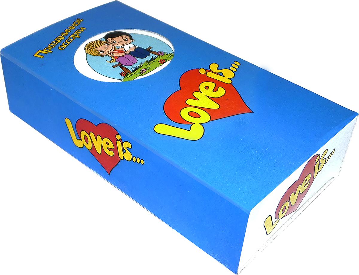 Love is жевательная резинка Микс вкусов Праздничное ассорти, 25 шт ( 70141 )