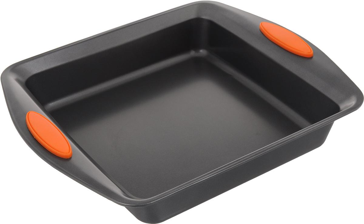 Форма для выпечки Mayer & Boch Unico, квадратная, 22,5 х 22,5 см4095-1Квадратная форма Mayer & Boch Unico изготовлена из углеродистой стали. Сталь не содержит вредных примесей ПФОК, что способствует здоровому и экологичному приготовлению пищи. Форма идеально подходит для приготовления разнообразной выпечки. Выдерживает температуру до +230°C. Изделие имеет ручки с силиконовыми вставками. Форма для запекания подходит для приготовления блюд в духовке. Не рекомендуется мыть в посудомоечной машине. Внешний размер: 31 х 25,8 см. Внутренний размер: 22,5 х 22,5 см. Высота стенки: 5,5 см.