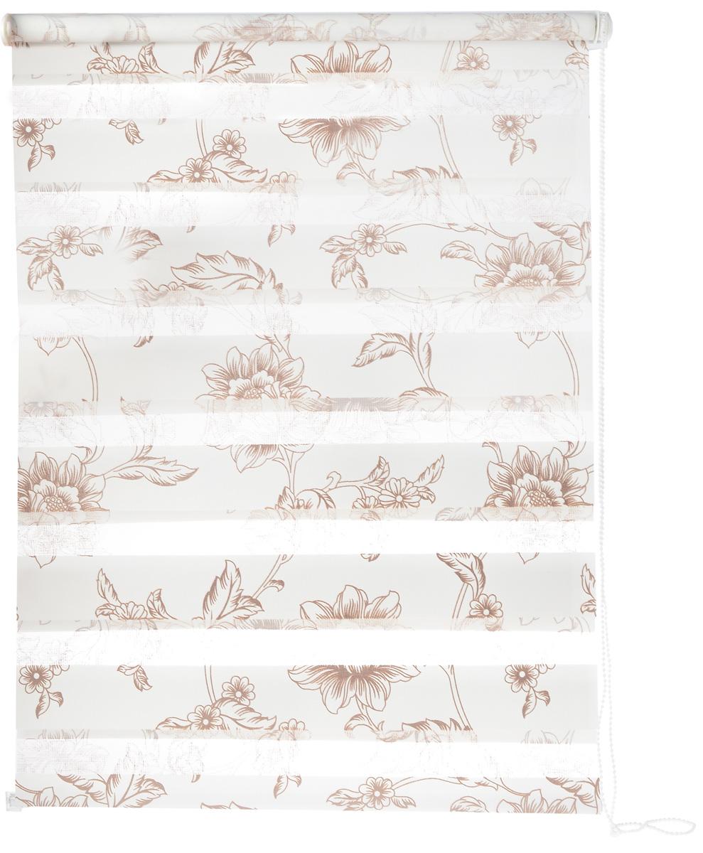 Штора рулонная Dr. Deco Полосы, день-ночь, с креплением на раму, цвет: белый, молочный, 68 х 160 см1219068/2 W2040Штора рулонная Dr. Deco Полосы изготовлена из высокопрочной плотной ткани с прозрачными полосками. Ткань не выцветает, обладает отличной цветоустойчивостью и сохраняет свой размер даже при намокании. Штора рулонная Dr. Deco Полосы закрывает не весь оконный проем, а непосредственно само стекло. Крепление универсальное, штора крепится либо скобами на раму, либо на крепление с двусторонним скотчем. Штора рулонная Dr. Deco Полосы - это отличное решение для тех, кто не хочет утяжелять помещение тканевыми шторами. Она не только открывает пространство, но и легко регулирует подачу света в помещении, сдвигая полоски относительно друг друга. Происходит это с помощью шнура-цепочки. В комплект входит: - 2 крепления, - 2 самореза, - 2 дюбеля, - шнур-цепочка, - штора.